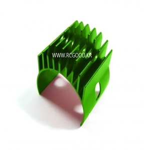 [GP11G] Aluminum Motor Heat Sink Clamp For 540, 550 Motor - 1pc Green