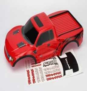 AX5814R Body, Ford Raptor®, red (painted, decals applied)