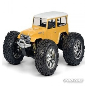 AP3231 Bushwacker Clear Body for T/E/2.5-Maxx/ Savage/ Revo