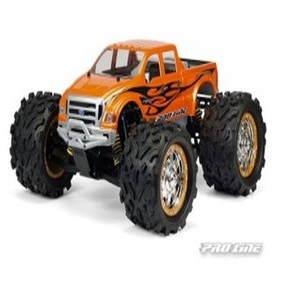 AP3196 Ford F-650 Clear Body for T/E/2.5-MAXX, REVO, & Savage