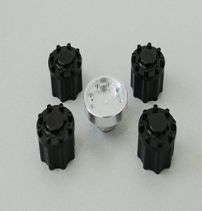 [Z-S0171]Scale Semi Truck Lock Nuts w/Tool