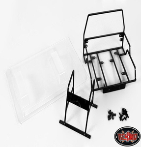 [Z-C0004]Tube Back half w/ lexan bed for Axial SCX10