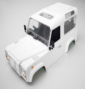 [ Z-B0008]1/10 Land Rover Defender D90 Hard Plastic Body Kit