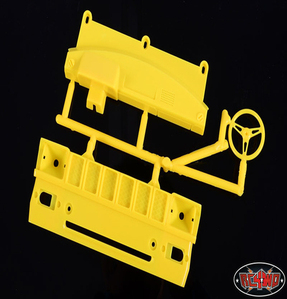 [Z-B0024]Mojave Grill and Dash parts tree (Yellow)