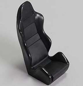 [Z-S0109]1/10 Scale Racing Seat (Black)
