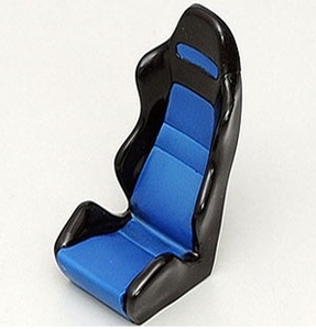 [Z-S0115 ]1/10 Scale Racing Seat (Blue)