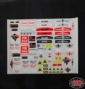 [Z-L0031]Generic Scale Body Decal Sheet