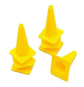 [Z-S0085]1/10 Scale Traffic Cone (Yellow)