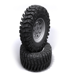 [Z-T0086]Prowler XS Scale 1.9 Tires