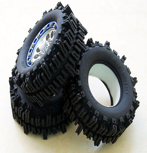 "[Z-T0050]Mud Slingers 1.9"" Tires (1x Pair)"