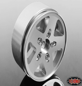 [Z-W0052]Jeep JK Stock 1.9 Scale Beadlock Wheel