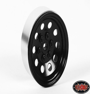 [Z-W0074]Pro10 1.9 Steel Stamped Beadlock Wheel (Black)