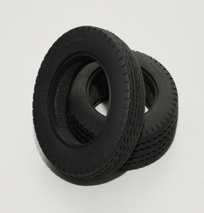 "[Z-T0066]LoRider 1.7"" Commercial 1/14 Semi Truck Tires"