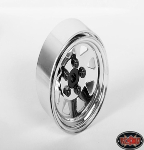 [Z-W0001]5 Lug Wagon 1.9 Steel Stamped Beadlock Wheels (Chrome)  [한대분 4개포함]