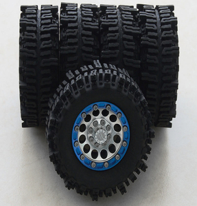 "[Z-P0016]RC4WD Mud Slingers Single 1.9"" Tires"