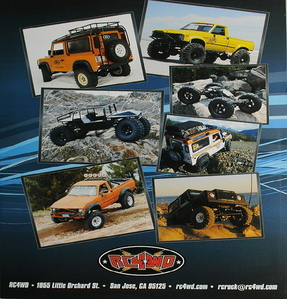[Z-S0351]RC4WD Full Color Printed Brochure (25)