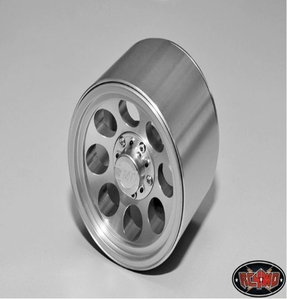 [Z-W0134]Mickey Thompson Classic II Silver Beadlock Wheels for Traxxas Revo and T-Maxx 3.3 (17mm hub)