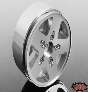 [ Z-Q0021]Jeep JK Stock Single 1.9 Scale Beadlock Wheel