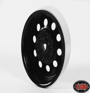 [Z-Q0026]Pro10 1.9 Single Steel Stamped Beadlock Wheel (Black)