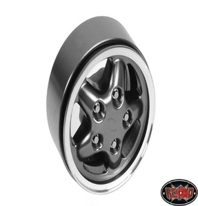 "[ Z-Q0045]Land Rover Disco Freestyle 1.9"" Single Wheel (Gun Metal)"