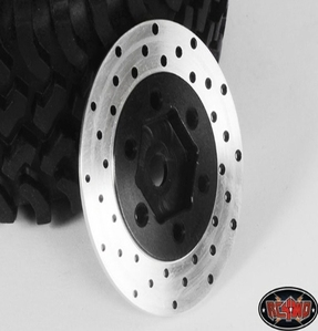 [ Z-S0530]1.9 6 Lug Steel Wheel Hex Hub with Brake Rotor