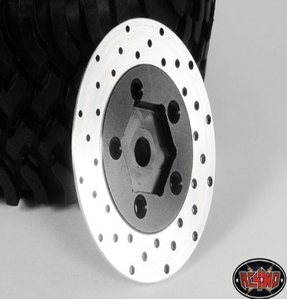 [Z-S0532]1.9 5 Lug Steel Wheel Hex Hub with Brake Rotor