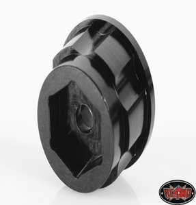 "[ Z-S0780 ]1.9"" 6 Lug Steel Wheel Hex Hub +9 Offset"