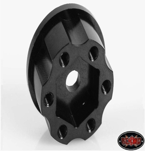 "[Z-S0774 ]1.9"" 6 Lug Steel Wheel Hex Hub +3 Offset"