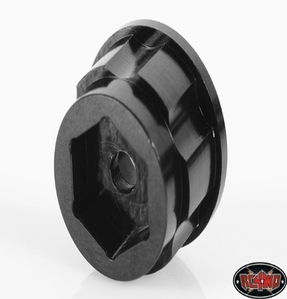 "[Z-S0780]1.9"" 6 Lug Steel Wheel Hex Hub +9 Offset"