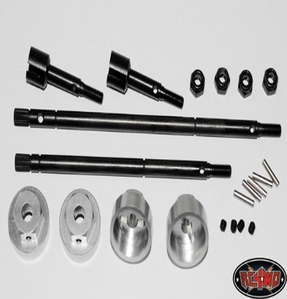 [ Z-S0107]12mm Hex conversion kit for Tamiya Bruiser 2012