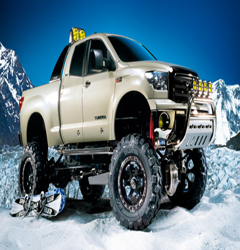 [58415] RC TOYOTA Tundra Highlift 4x4(3SPD) 1/10
