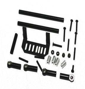 [Z-S0333]Super Bully Steering Kit (Black)