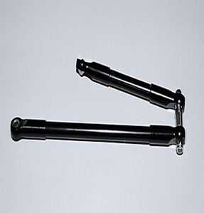 [ Z-S0164]Front Steering Links for D35 and K44 Axles (Black)