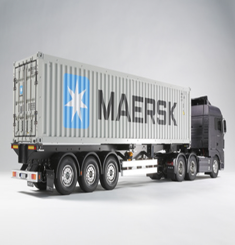 [56326] 40ft Container Semi-Trailer - For RC Tractor Truck 1/14