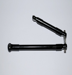 [Z-S0157]Front Steering Links for Worminator and Worm MOA Axles (Black)