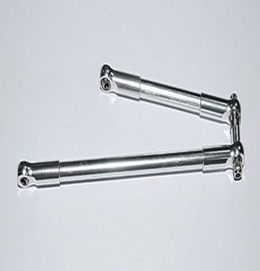 [Z-S0150]Front Steering Links for Bruiser G2 Axles (Silver)