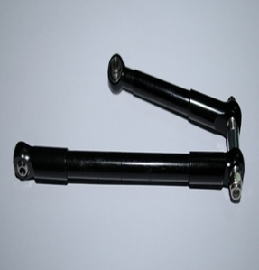 [Z-S0163]Front Steering Links for Worminator 6x6 Axles (Black)