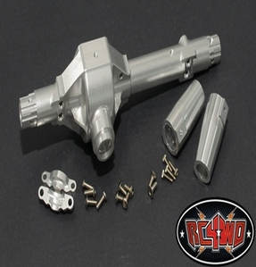 [ Z-A0064]Aluminum Rear Axle Housing for Axial Wraith (Wraith, Ridgecrest) (Silver)