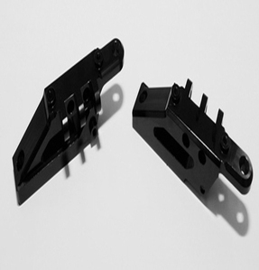 [Z-S0586]Upper 4 link Mount Set for Axial Wraith (Black)