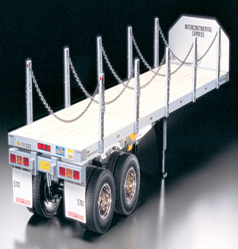 [56306] Flatbed Semi-Trailer 1/14