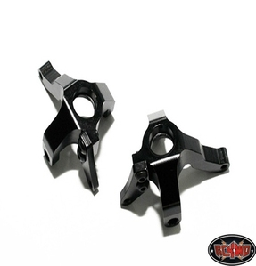 [Z-S0604]Aluminum Steering Knuckles to fit Axial Wraith (Wraith, Ridgecrest) (Black)