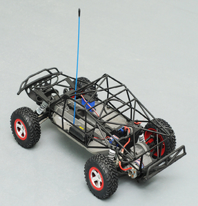 [Z-C0014]Black Tube Chassis for Traxxas Slash