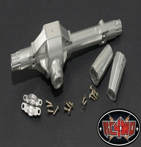 [Z-A0064]Aluminum Rear Axle Housing for Axial Wraith (Wraith, Ridgecrest) (Silver)