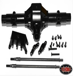 [Z-A0006]Aluminum Rear Centered Axle Housing for Axial Wraith (Black)