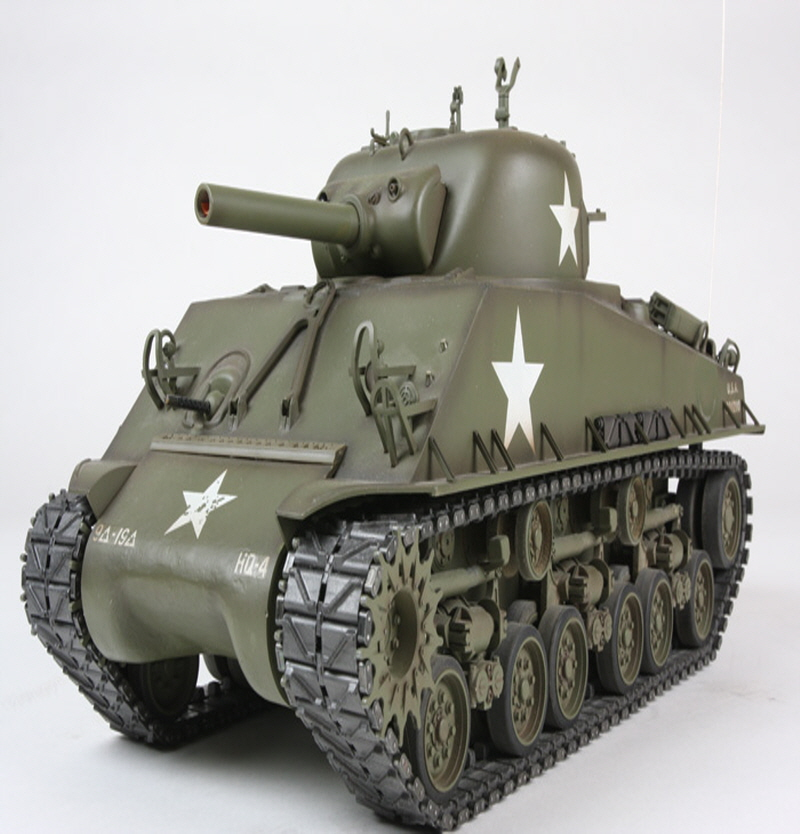 [56014] RC M4 Sherman 105mm Howitzer - Full-Option Kit  1/16