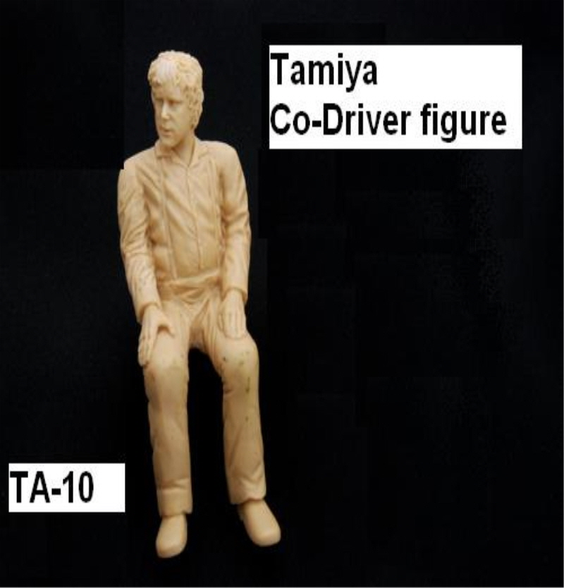 [해외]TA-10 - Tamiya Co-Driver figure[TA-10] [베르켈크]