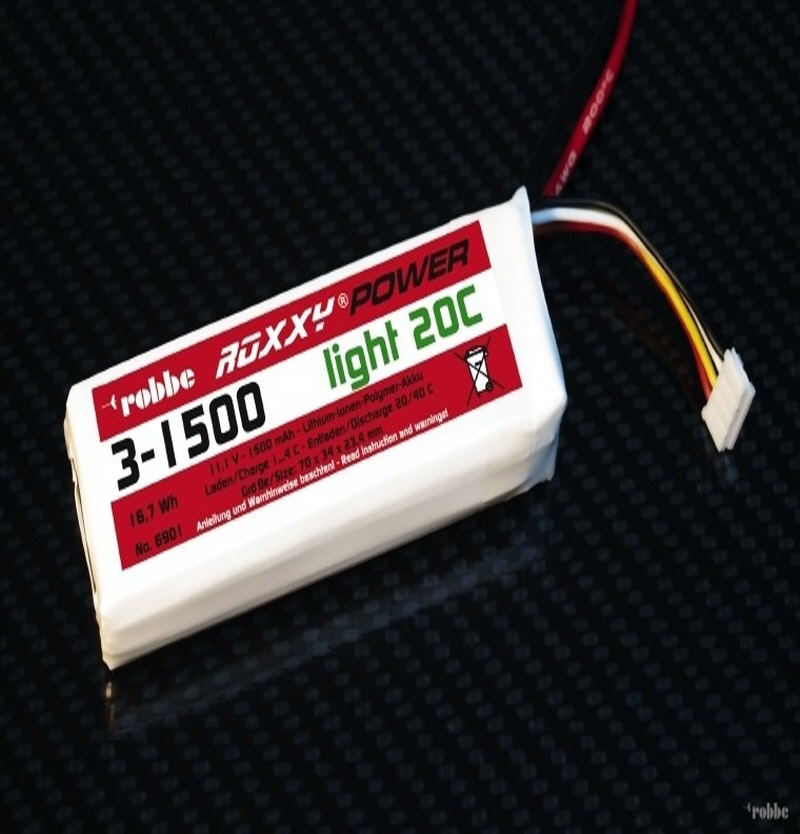 [해외]Roxxy-Power 2S1500mAh 20C 79x34x17