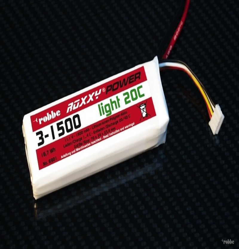 [해외]Roxxy-Power 11.1V 3S1500mAh 20C 79x34x25