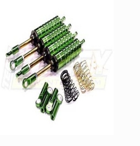 MSR10 Shock (4) for AX10 Scorpion, Wheely King & Rock Crawlers C22763GREEN