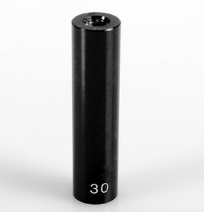 "[Z-S0876]30mm (1.18"") Internally Threaded Aluminum Link (Black)"
